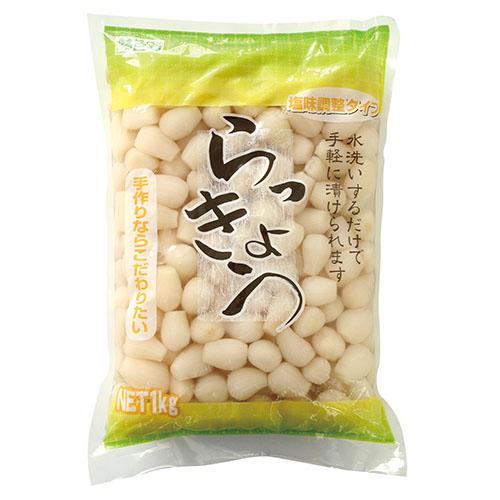 塩漬けらっきょう1kg   (中国産)
